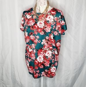 Short Sleeve Dolman By A&D Size Med.